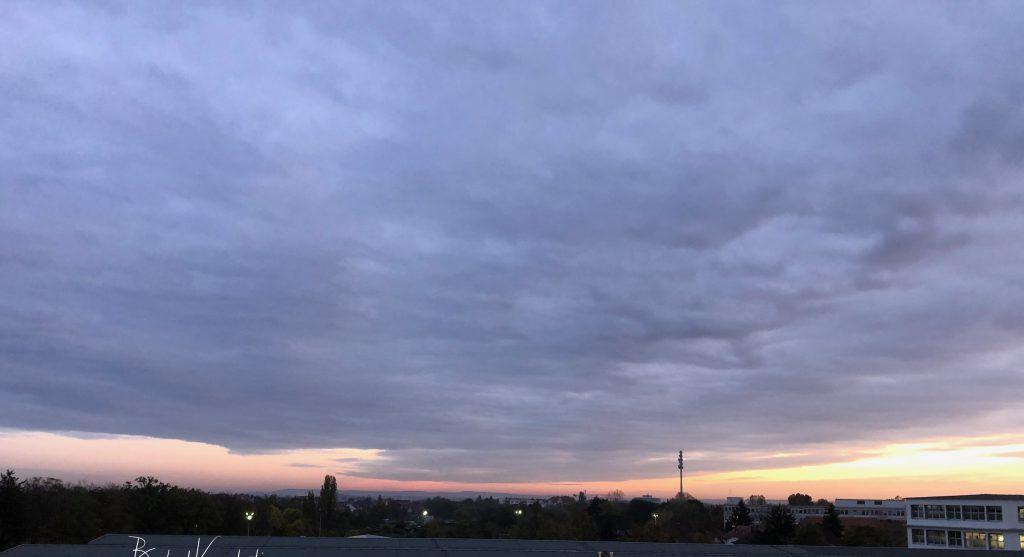 Nürnberg - Blick aus dem Bürofenster